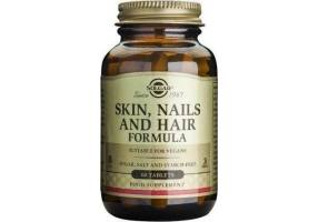 SOLGAR Skin Nails and Hair 60tbs