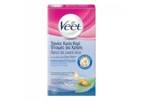 VEET Hair Minimizer Ταινίες Κρύο Κερί Έτοιμες για Χρήση για Ευαίσθητο Δέρμα 16Τμχ