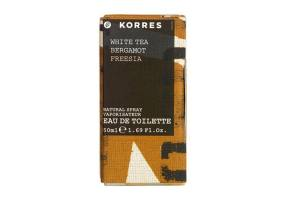 KORRES Women's Perfume White Tea - Bergamot - Freesia 50ml