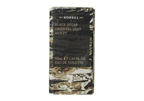 KORRES Black Sugar Oriental Lilly Violet Eau de Toilette 50ml