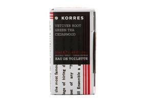 KORRES Ανδρικό Άρωμα Vetiver Root - Green Tea - Cedarwood 50ml