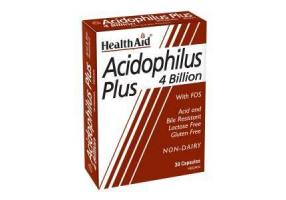 HEALTH AID Healthaid Acidophilus Plus 4 Billion Vegetarian Capsules 30s