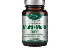 POWER HEALTH Classics Multi+Multi Time 30caps