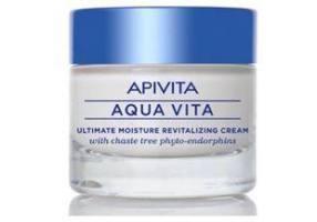 APIVITA Aqua Vita Κρέμα Λιπαρές/μικτές Επιδερμίδες 50ml