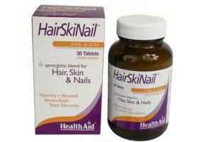 HEALTH AID Hair, Skin & Nail Formula Tablets 30's