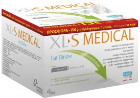 XLS MEDICAL OMEGA Xl-s Medical Fat Binder 180 Δισκίων