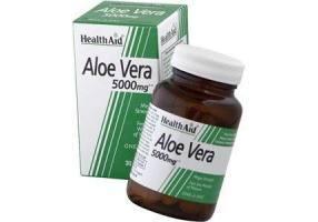 HEALTH AID Aloe Vera 5000mg Capsules 30's