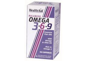 HEALTH AID Ω3 - 6 - 9  (1155mg) Capsules 90's
