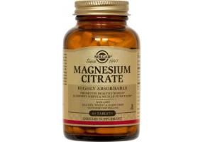 SOLGAR Citrate Magnesium 200mg 60Tabs