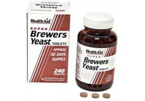 HEALTH AID Super Brewers Yeast Tablets 240's