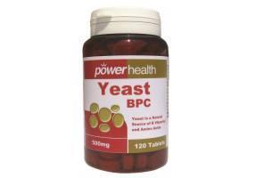 POWER HEALTH Power Yeast 500mg 120 Tabs