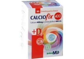 CALCIOFIX 400 600mg + 400IU D3 90 tabs