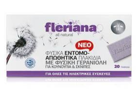 POWER HEALTH Fleriana Εντομοαπωθητικά Πλακίδια 20τμχ.