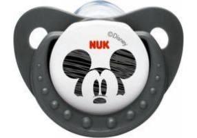 NUK Trendline Disney Mickey Σιλικόνης Γκρι 0-6 μηνών (10.729.717)