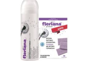 POWER HEALTH Fleriana Roll-On 100ml&Gift Insect Tiles 10 Pcs
