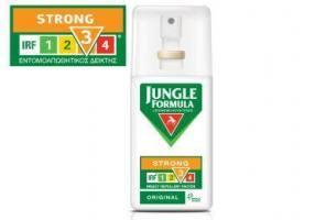JUNGLE FORMULA Εντομοαπωθητικό Spray Strong Original 75ml