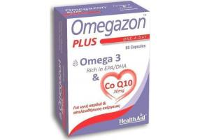 HEALTH AID Omegazon Plus Omega-3 & Co-Q10 30mg 60caps