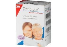 3M Opticlude Junior Οφθαλμικά Επιθέματα 20Τμχ 1537