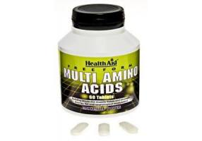 HEALTH AID Free Form Multi Amino Acids - 60 Tablets
