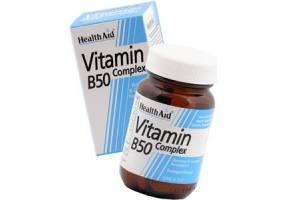 Vitamin B50 Complex, 30 ταμπλέτες
