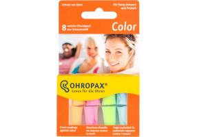 Ohropax Color earplugs 8 pieces