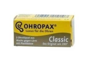 OHROPAX WAX CLASSIC EARPLUGS