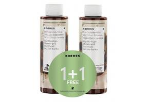 KORRES VANILLA-KANELA SHOWER GEL 250ML + 250ML