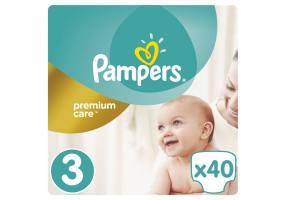 Premium Care Πάνες Μέγεθος 3 (Midi) 5-9 Kg 40 Πάνες