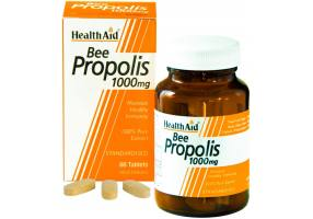 HEALTH AID BEE PROPOLIS 1000MG 60TAB