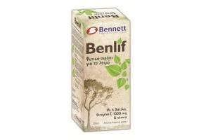 Benlif Φυτικό Σιρόπι για το Λαιμό Για τα Ενήλικες 200 ml