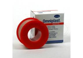 Αυτοκόλλητη ταινία στερέωσης Omniplast Hartmann 2,5 cm x 5 m