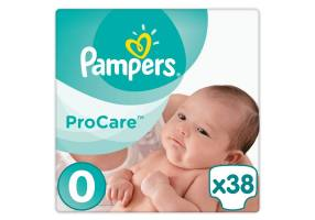 Pampers Procare Premium Protection No.0 (Micro) 1-2.5 kg 38 τμχ