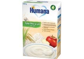 Humana Κρέμα Μήλο με Ρύζι χωρίς Γάλα 230gr
