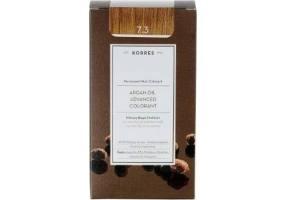 Korres Argan Oil Advanced Colorant 7.3 Blonde Gold Honey