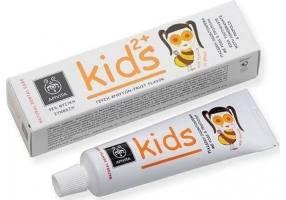 APIVITA Οδοντόκρεμα Kids 2+ Με Ρόδι & Πρόπολη 50ml
