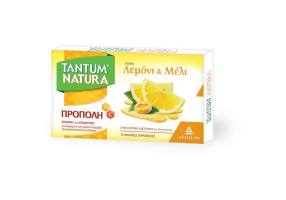 TANTUM NATURA throat pills with propolis, lemon & honey 15 soft candies