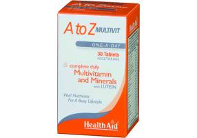 A To Z Multivit Tablets 30 caps