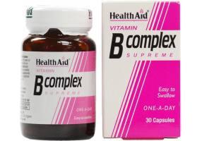 Vitamin B Complex Supreme - 30 Capsules