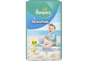 Pampers Splashers Size 3-4 6-11kg Swim diapers, 12 pieces