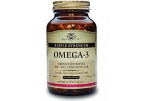 SOLGAR Omega-3 Triple Strength 50 soft gels