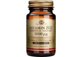 SOLGAR Vitamin B12 1000 Mcg 100 nuggets