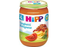 Hipp Organic Growing Lunch, Spaghetti, 190 gr