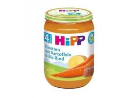 Hipp Baby Meal With Beaf, Potatos & Carrots 190g