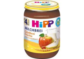 HiPP Baby Cream Milk With Semolina And Fruit 190gr