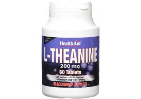 L-Theanine 200mg - Stress Management (60tabs)