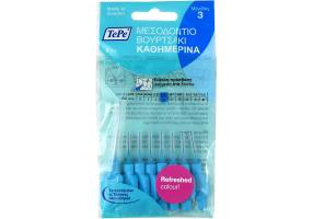 TePe No3 0.6mm Interdental Brushes 8pcs, blue