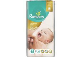 Pampers Premium Care Πάνες Μέγεθος 2 (Mini) 3-6 Κg 50 Πάνες