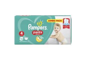 PAMPERS PANTS No4  (9-14kg) 52 pcs