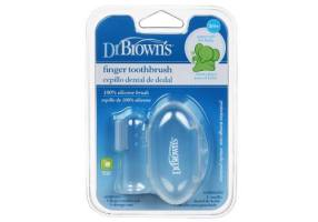DrBROWN'S FINGER TOOTHBRUSH 1τμχ