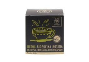 Apivita Detox Βιολογικό Τσάϊ Αποτοξίνωσης με Λουίζα, Ταραξάκο & Αγριοκυπάρισσο, 10 x 1.5gr